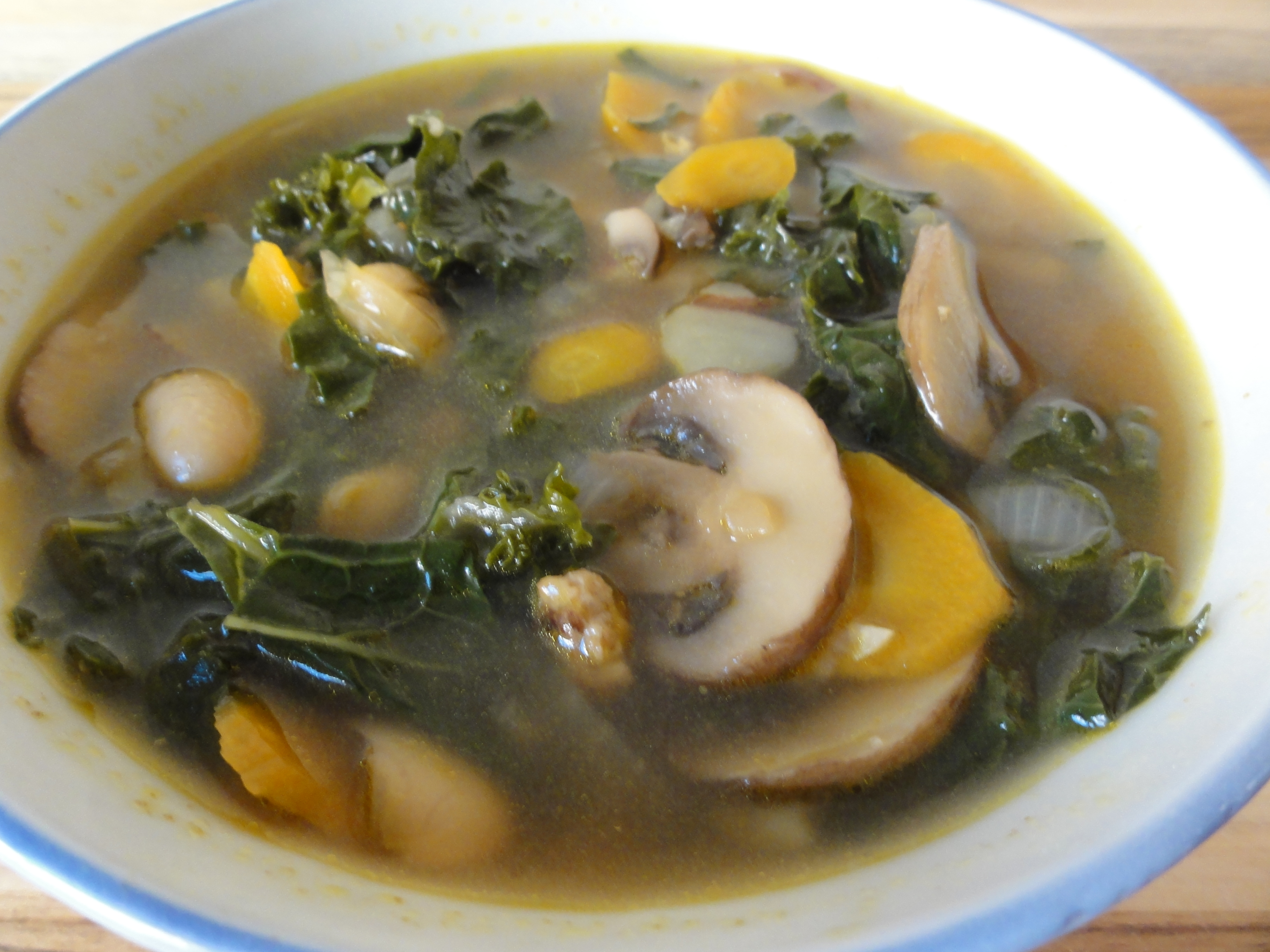Portuguese kale soup with white beans | DC Vegetarian