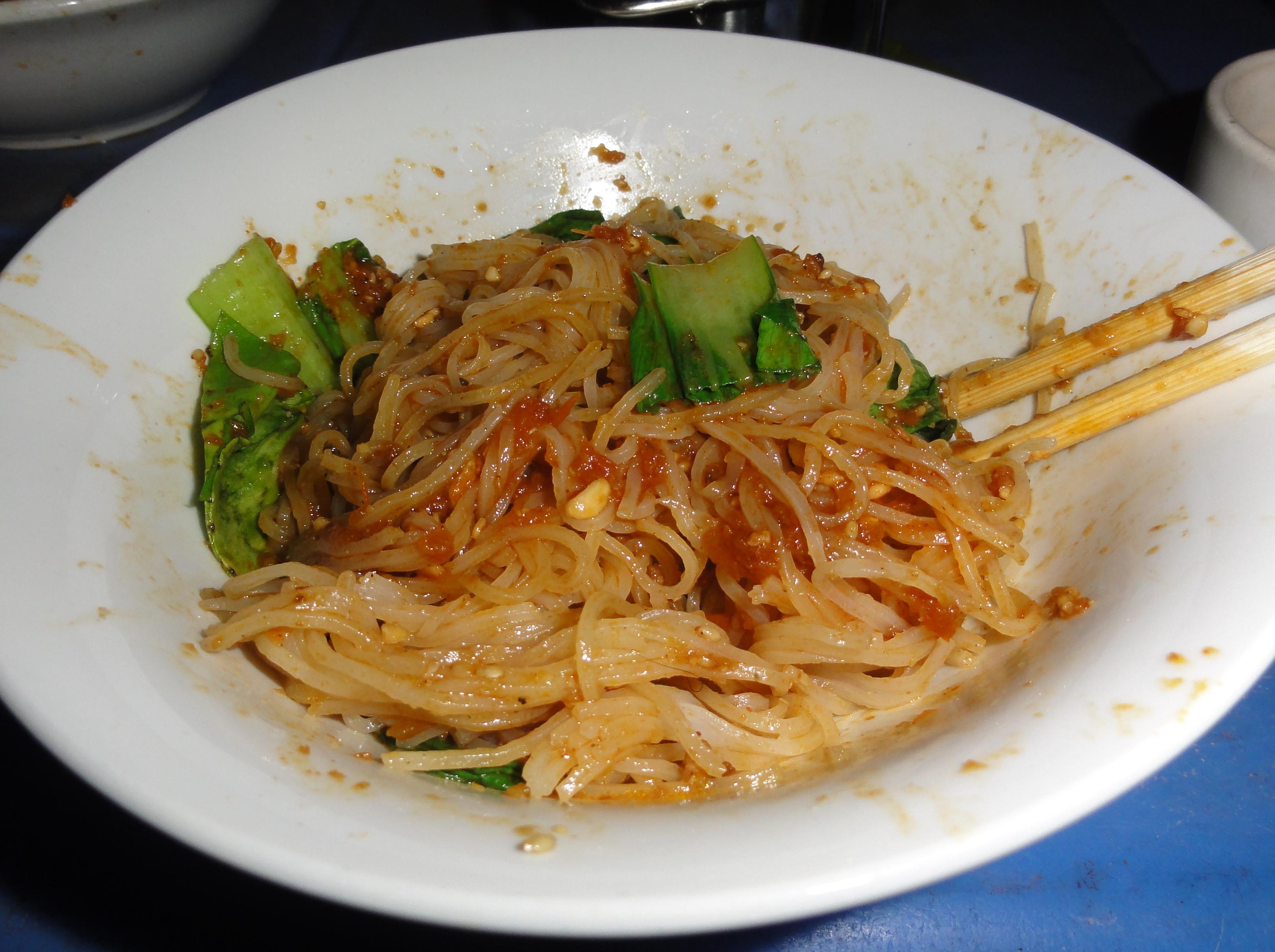 Vegetarian eats in burma dc vegetarian shan noodle bowl forumfinder Images
