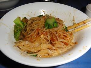 Shan noodle bowl