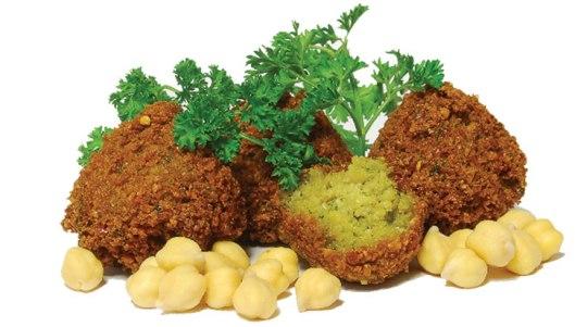 Falafel balls (Courtesy Arianne Bennet of Amsterdam Falafelshop)