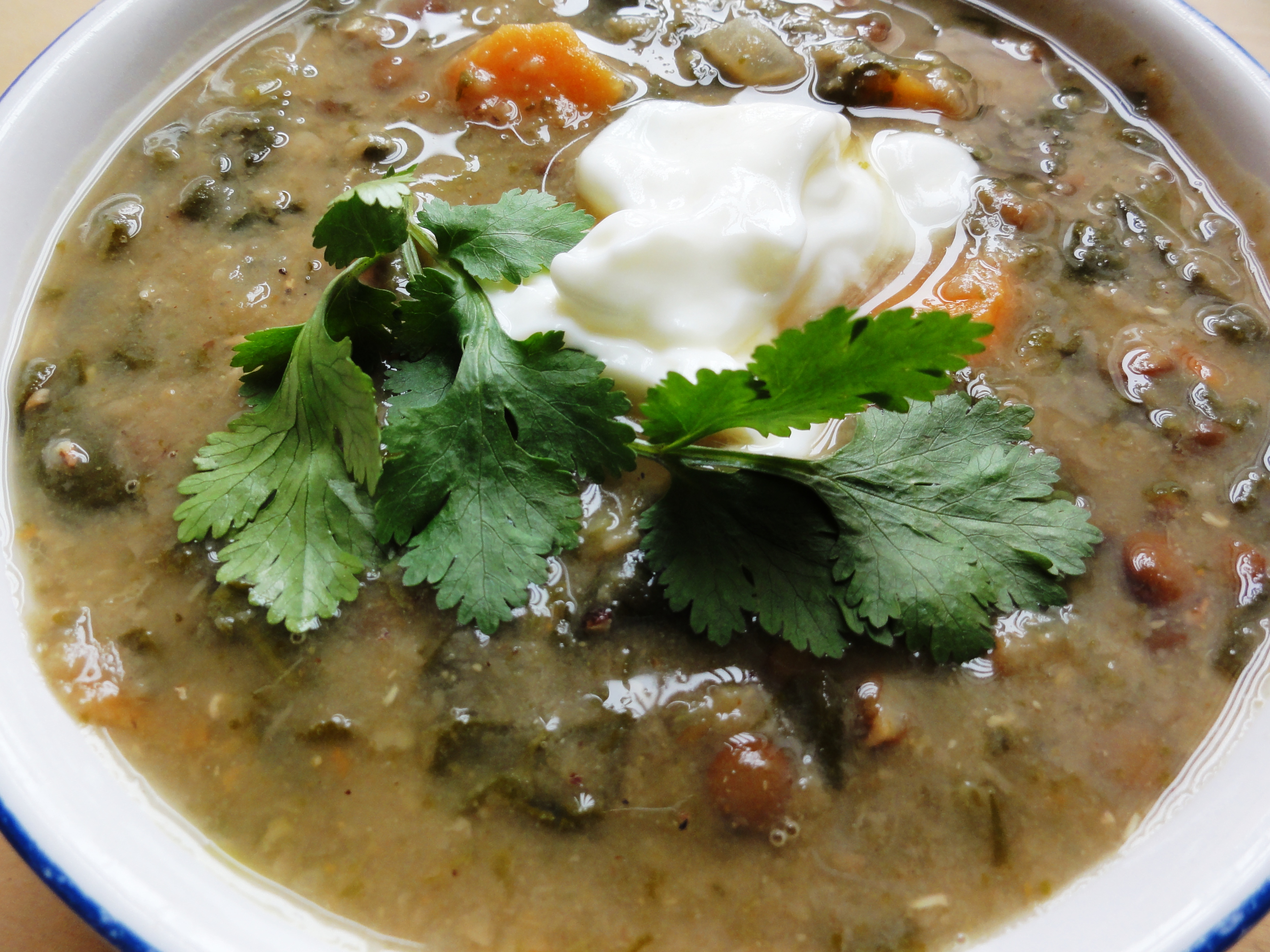 South Indian Spinach And Lentil Soup Recipes — Dishmaps