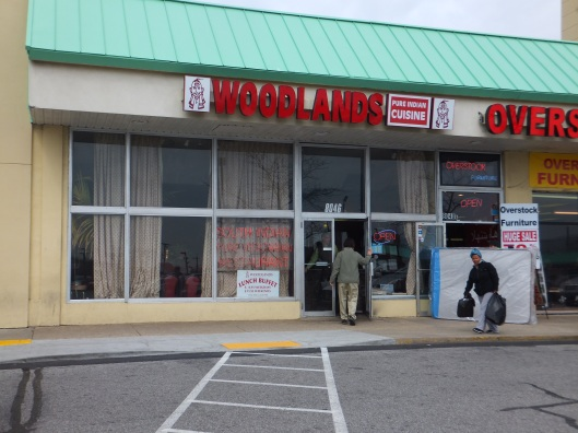 Woodland's, situated in a strip mall (so you know it'll be good).