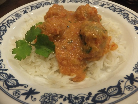 Image: Plantain kofta over rice