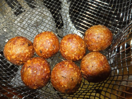 Image: Fried kofta balls