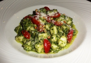 Gnocchi with pesto