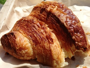 Spectacular croissant from Tartine Bakery