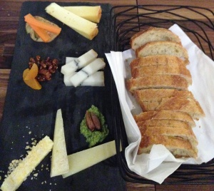 Cheese plate and BUTTER