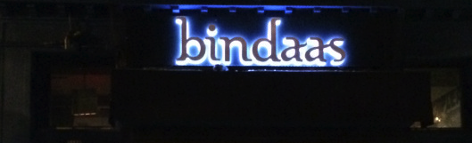 Serendipity at Bindaas